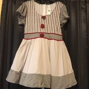 Hot Topic Scary Clown Dress
